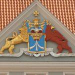Historisches Stadtwappen Stralsund