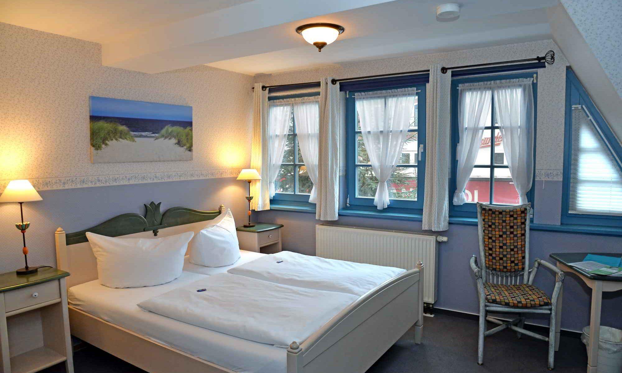 Zimmer in der Pension Stralsund